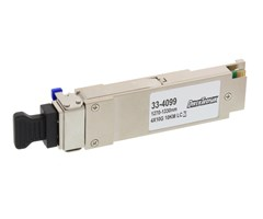 QSFP+ MM IR4, 40 Gbps, 1270-1330 nm LC, 100 m, DDMI
