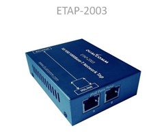 ETAP-2003 10/100/1000Base-T TAP, PoE, ström via USB