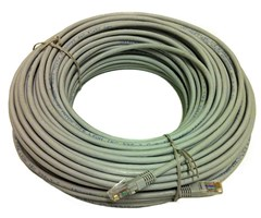 Cat.6 LSZH UTP patch 50m ring (med RJ45-kontakter)