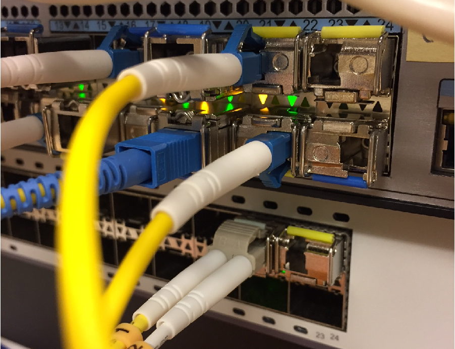 Switch med WDM SFP